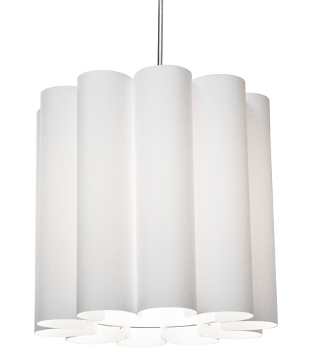 Dainolite SAN201-PC-790 Sandra 1 Light 19 inch Polished Chrome Pendant Ceiling Light