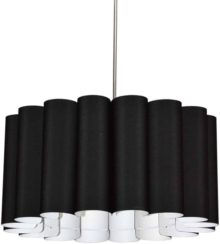 Dainolite SAN244-PC-797 Sandra 4 Light 24 inch Polished Chrome Pendant Ceiling Light