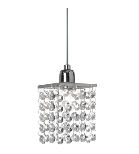 Dainolite Staro 1 Light Pendant in Polished Chrome STA-611P-PC photo