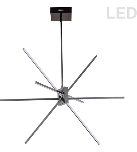 Dainolite SUM-34P-MB Summit LED 28 inch Matte Black Pendant Ceiling Light