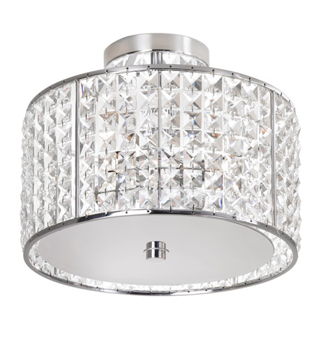 Dainolite Lighting Crystal 4 Light Vanity in Polished Chrome  V679FH-PC photo