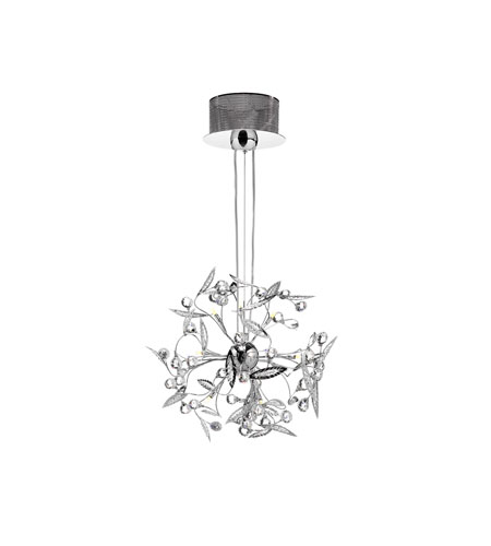 Dainolite Lighting Venus 12 Light Chandelier in Polished Chrome  VEN-20-12-PC photo