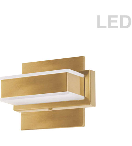 Gold Acrylic Signature Bathroom Vanity Lights