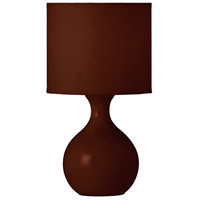 Dainolite Lighting Ceramics 1 Light Table Lamp in Coffee  10022-COF