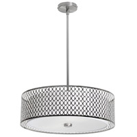 Signature 3 Light 22 inch Satin Chrome Dinette Pendant Ceiling Light