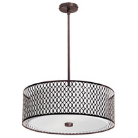 Dainolite Signature 3 Light Pendant in Vintage Oiled Brushed Bronze 1015-22P-VOB
