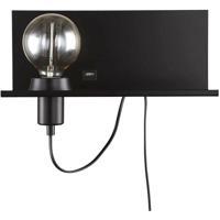 Dainolite 1100-1W-MB Signature 1 Light 13 inch Matte Black Wall Sconce Wall Light