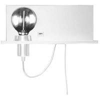 Dainolite Matte White Metal Wall Sconces