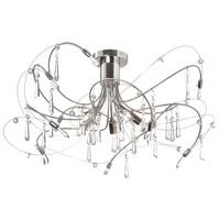 Dainolite 158-18SF-PC Firefly LED 18 inch Polished Chrome/Satin Chrome Flush Mount Ceiling Light