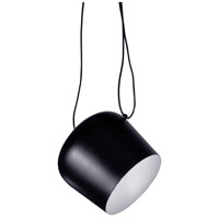 Dainolite Signature 1 Light Pendant in Black 1605P-BK