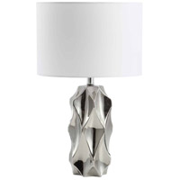 Dainolite 161T-PC Signature 25 inch 60 watt Polished Chrome Table Lamp Portable Light