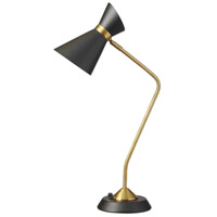Signature 27 inch 60 watt Vintage Brandze Table Lamp Portable Light