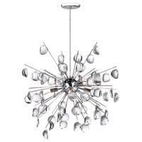 Dainolite Lighting Crystal 8 Light Pendant in Polished Chrome  189-24-PC