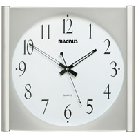 Dainolite Lighting Clock Decorative Accessory in Polished Chrome  2008-PC