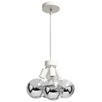 Signature 4 Light 6 inch Matte White Pendant Ceiling Light