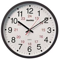 Dainolite Lighting Clock Decorative Accessory in Black  22502-BK