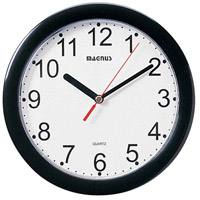 Dainolite Lighting Clock Decorative Accessory in Black  24003-BK