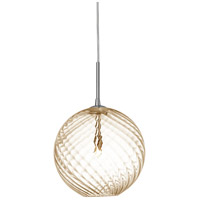 Dainolite Signature 1 Light Pendant in Polished Chrome 362-101P-PC-CHN