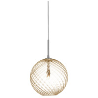 Signature 1 Light Polished Chrome Pendant Ceiling Light