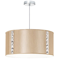 Dainolite 571898-838-PC Round Polished Chrome Pendant Ceiling Light photo thumbnail
