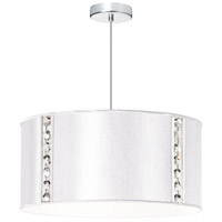 Round Polished Chrome Pendant Ceiling Light