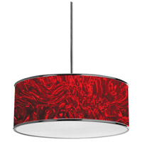 Dainolite 57208P-PC-772 Signature 3 Light 20 inch Polished Chrome Pendant Ceiling Light