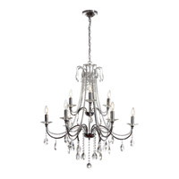 Dainolite Formal 9 Light Chandelier in Polished Chrome 615-329C-PC