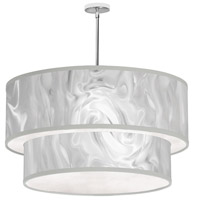 Signature 6 Light 30 inch White Ice Pendant Ceiling Light
