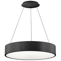 Signature 1 Light 24 inch Black Pendant Ceiling Light