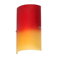 dainolite-red-orange-glass-sconces-83204w-rd