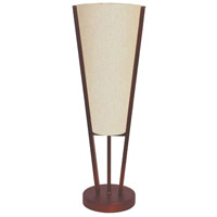 Emotions 19 inch 60 watt Oil Brushed Bronze Table Lamp Portable Light