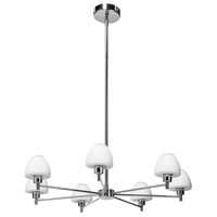 Dainolite Signature 7 Light Chandelier in Polished Chrome 83721-PC photo thumbnail