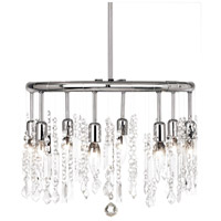 Dainolite Lighting Bohemian 8 Light Chandelier in Polished Chrome  85302-PC-CLR