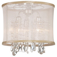 Dainolite Lighting Organza Bling 3 Light Chandelier in Polished Chrome  85312SF-PC-117