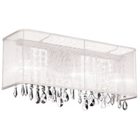 Bohemian 3 Light 21 inch Polished Chrome Vanity Wall Light