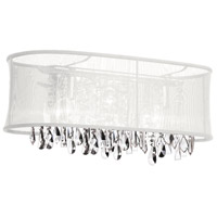 Bohemian 4 Light 29 inch Polished Chrome Vanity Wall Light