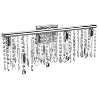 Dainolite Lighting Bohemian 4 Light Sconce in Polished Chrome  85324W-PC