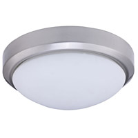 Dainolite Lighting Ceiling 2 Light Flush-Mount in Satin Chrome  880-11FH-SC