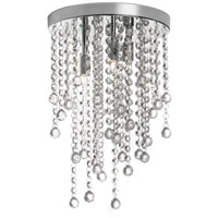 Cynthia 3 Light 10 inch Polished Chrome Pendant Ceiling Light