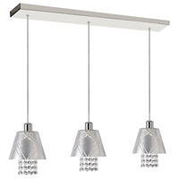Renaissance 3 Light 7 inch Polished Chrome Pendant Ceiling Light