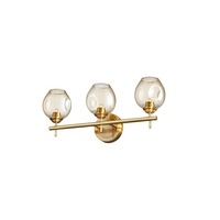 Vintage Bronze Metal Bathroom Vanity Lights