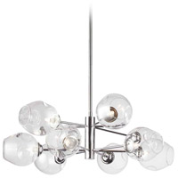 Abii LED 26 inch Polished Chrome Pendant Ceiling Light