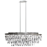 Allegro 8 Light 13 inch Polished Chrome Chandelier Ceiling Light