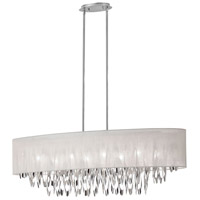 Dainolite Allegro 8 Light Chandelier in Polished Chrome ALL-448C-PC-CRM