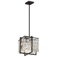 Alistair 4 Light 12 inch Espresso Chandelier Ceiling Light