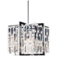 Alistair 4 Light 12 inch Polished Chrome Chandelier Ceiling Light