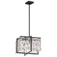 Alistair 4 Light 16 inch Espresso Chandelier Ceiling Light