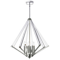 Aalto 8 Light 27 inch Polished Chrome Pendant Ceiling Light