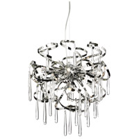 Dainolite Lighting Apollo 8 Light Chandelier in Polished Chrome  APO-188C-PC