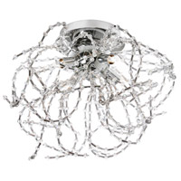 Dainolite Ariel 4 Light Chandelier in Polished Chrome ARI-134FH-PC